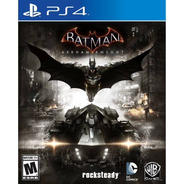Batman Arkham PS4.