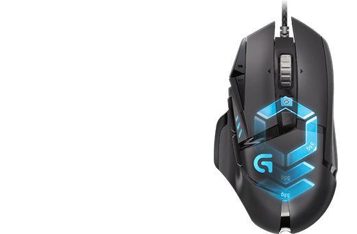 Mouse Logitech G502 PROTEUS SPECTRUM RGB.